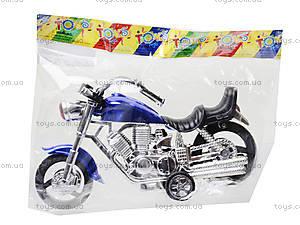 Мотоцикл инерционный для детей, 1242, игрушки