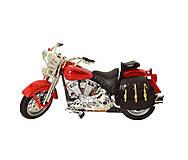 Мотоцикл инерционный из серии Автопром Красный, 7749, игрушки