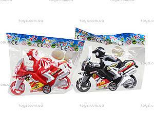 Детская инерционная игрушка «Мотоциклист», 530, игрушки