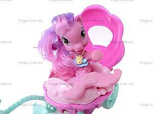 Мой маленький пони с каретой, CL1985ABC, детские игрушки