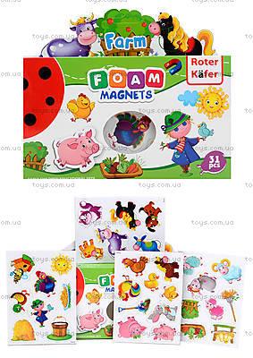 Набор мягких магнитов «Ферма», RK2101-01
