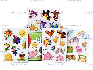 Набор мягких магнитов «Ферма», RK2101-01, игрушки