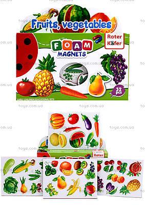 Мой маленький мир на магнитах «Фрукты, овощи», RK2101-04
