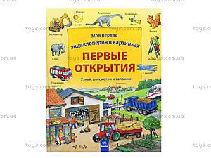 Детская энциклопедия в картинках «Первые открытия», Р121002Р, купить