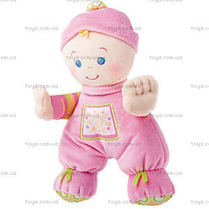 Моя первая плюшевая кукла Fisher-Price, N0662, купить