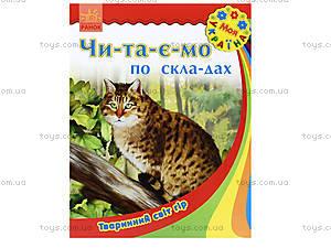 Читаем по слогам «Животный мир гор», С366004У