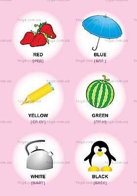 Детская книга с наклейками, английский, 03689, детские игрушки