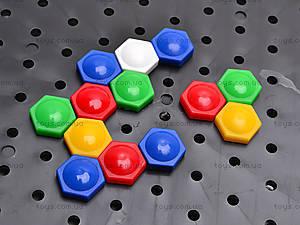 Мозаика «Цветной мир», 2070, игрушки
