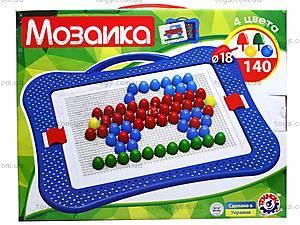 Мозаика для детей «Технок», 3381, игрушки