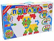 Мозаика-пазл «Пчелка» (100 элементов), 1035, іграшки