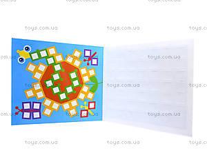 Детская мозаика из наклеек «Квадратики», К166002У, купить