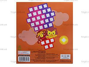 Детская мозаика из наклеек «Квадратики», К166002У, фото
