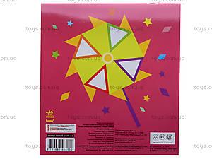 Детская мозаика из наклеек «Треугольники», К166001У, отзывы