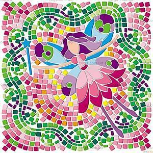 Мозаичный витраж «Девочки», 00-04565, отзывы