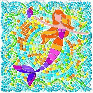 Мозаичный витраж «Девочки», 00-04565, игрушки