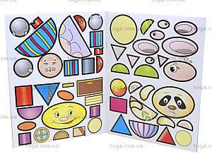 Мозаика для малышей с наклейками «Чиполлино», 4956, отзывы