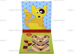 Мозаика из наклеек «Цвет», мягкая обложка, С166026РУ, купить
