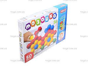 Мозаика для детей 50 деталей, 010117, фото