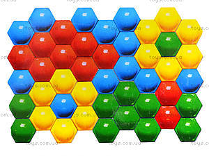 Мозаика для детей 50 деталей, 010117, игрушки