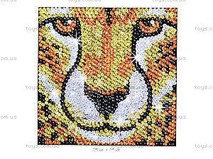 Мозаика блестками «Гепард», 1114-KSG, фото