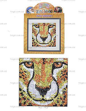 Мозаика блестками «Гепард», 1114-KSG