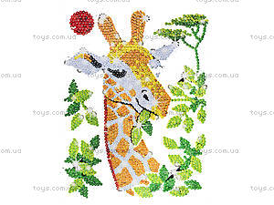Мозаика блестками «Жираф», 0702-KSG, фото