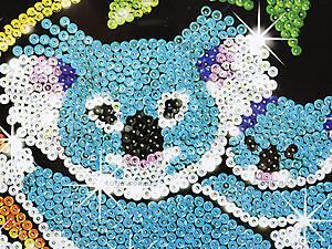 Детская мозаика блестками «Коала», 0712-KSG, купить