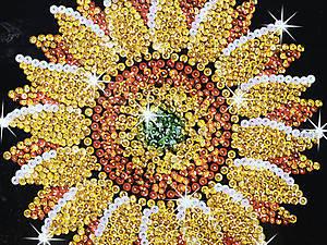 Мозаика блестками «Подсолнух», 1216-KSG, купить