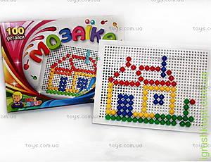 Мозаика для малышей, 100 элементов, МГ 144
