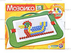 Мозаика для малышей 4 цвета, 3374, цена