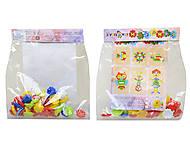 Детская напольная мозаика - пазл «М», 30-036, купить