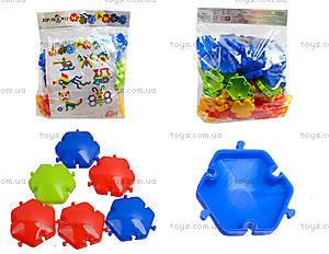 Напольная мозаика для детей, 70 деталей, 30-047