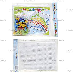 Мозаика для детей с круглыми фишками , 30-016