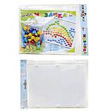 Мозаика для детей с круглыми фишками , 30-016, фото