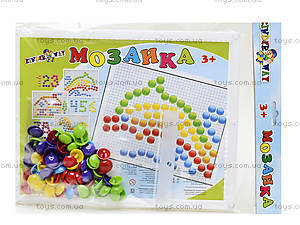 Мозаика с круглыми фишками, 60 штук, 30-015, купить