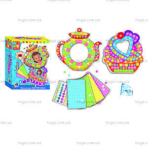 Мозаика со стразами «Фоторамка Пироженое», VT4302-02, фото