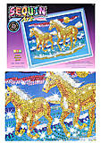 Мозаика из блесток и бусин Конь, 0620-KSG, отзывы