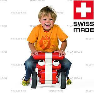 Машина-конструктор MultiCar L, красная, 1180, фото