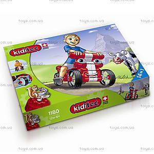 Машина-конструктор MultiCar L, красная, 1180