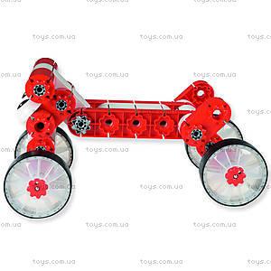 Машина-конструктор MultiCar L, красная, 1180, игрушки