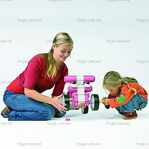 Конструктор MultiCar L, розовый, 1101, магазин игрушек