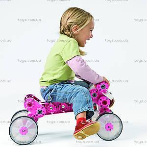 Конструктор MultiCar L, розовый, 1101, toys