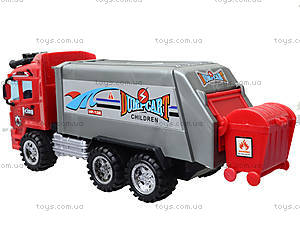 Детский грузовик «Мусоровоз», BB706-1A, игрушки