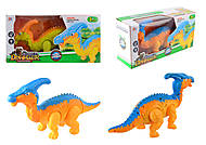 Музыкальный динозавр, 2 цвета, со световыми эффектами, 856A, отзывы