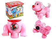 Музыкальное животное со светом, коробка, 9081B, игрушка