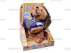 Музыкальная игрушка «Собака с гармошкой», CL1609B, цена