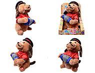 Музыкальная игрушка «Пёс с гармошкой», CL1609A