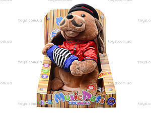 Музыкальная игрушка «Пёс с гармошкой», CL1609A, цена