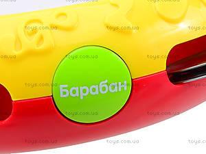 Музыкальная игрушка для детей «Бубен», 1011, отзывы