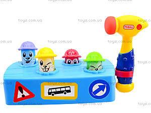 Музыкальная детская игрушка «Молоточек и скамья», 589, купить